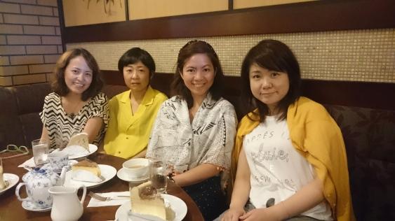 With Yukiyo and Kanae